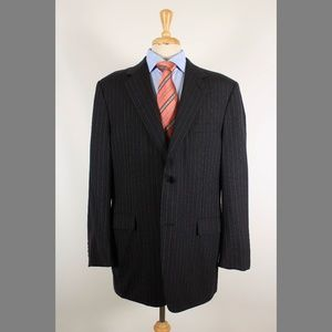 Canali 46L Gray Wool Sport Coat 95-9